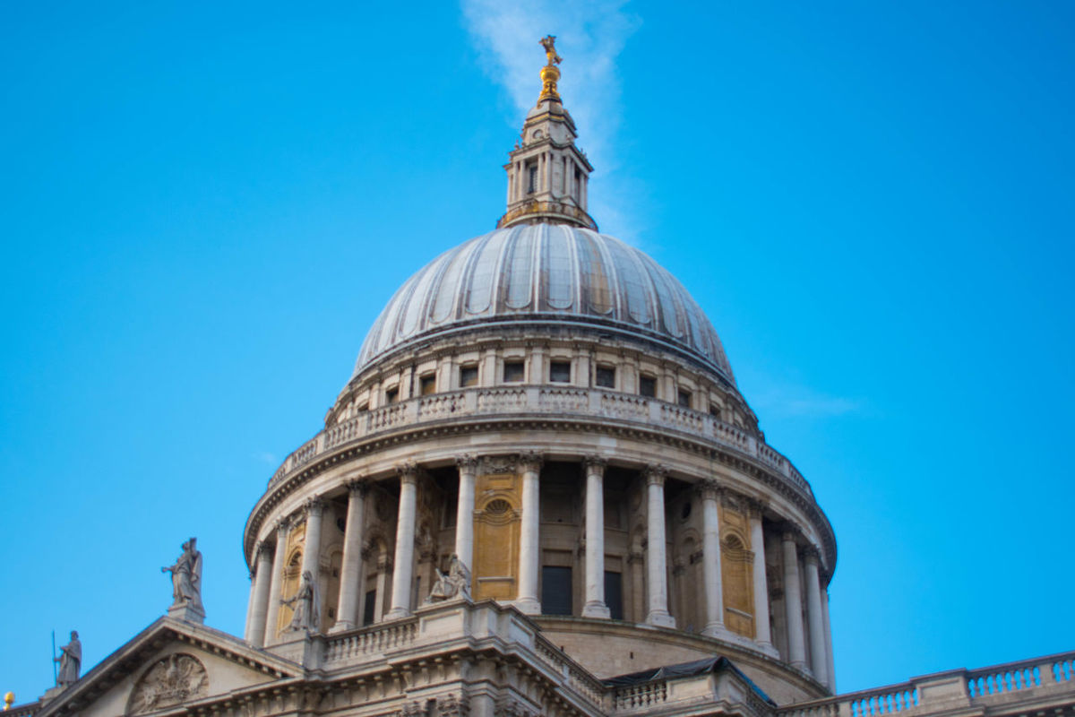 Cathedral Chruch Lanmark London London Church LONDON❤ St Paul's Cathedral United Kingdom