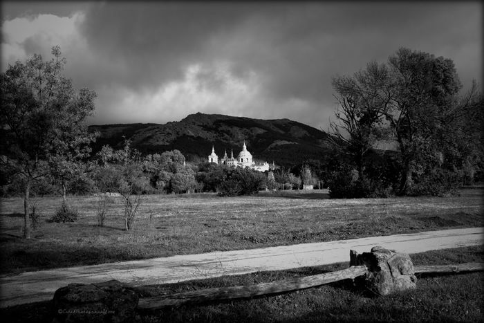 From My Point Of View Black And White Landscape #Nature #photography Spanish Arquitecture