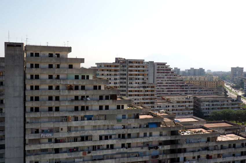 Scampia Apartment Architecture Broken Down House Building Exterior Building Terrace Built Structure Cityscape Day Documentary Failure  Lost Place Napoli Outdoors Residential Building Sails Scampia Social Housing Social Issues Urban Skyline Vele