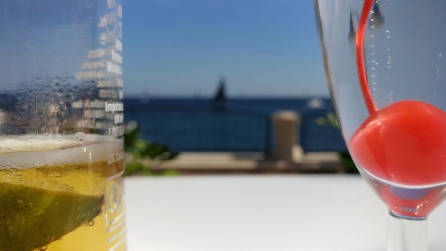 My Year My View Drink Drinking Glass Close-up Sky Day No People Outdoors Alcohol Freshness Beer Cocktail Sailing Boat Sea Enjoying Life Enjoying The View Enjoying Summer Prosecco Corona Seaside Seaside Café Rolex Middle Sea Race Middle Sea Race Malta