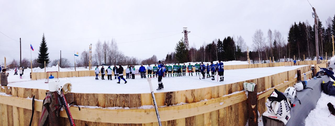 Classic Russian in village Hockey Ice Hockey Game Team Winter Freezing Check This Out Enjoying Life