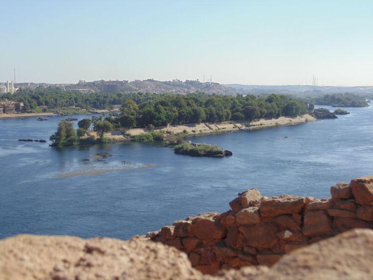 Aswan Blue Faloka Nile River The Nile River First Eyeem Photo
