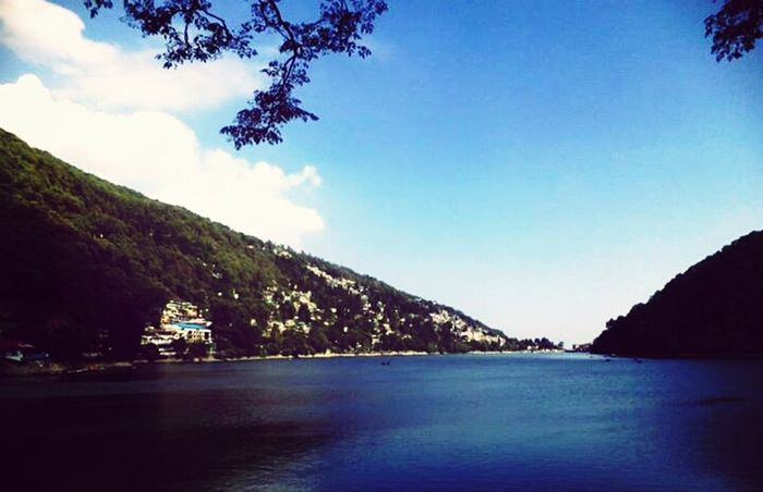 Nainital Lake Mountains Nostalgia