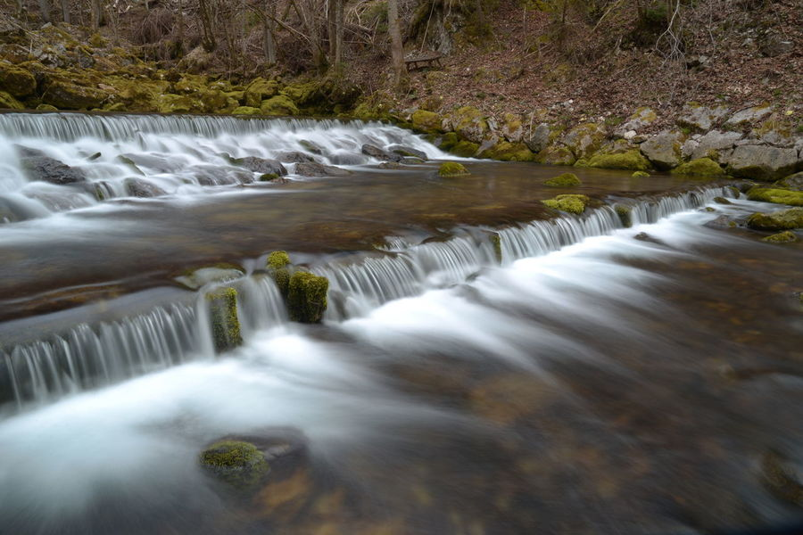 Beautiful Beauty In Nature Blue Wave Blurred Motion Easter Forrest Green Long Exposure Motion Nature No Leafs River Road Showcase April Sparkling Spring Stream Water Water Falls Water Motion Water Motions Water Source Waterfall Winter The Great Outdoors With Adobe