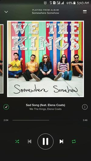 My comfort song 💞🎧🎶 Project 365 51/365