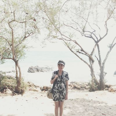 Girl Beach Vscocam Hipstamatic