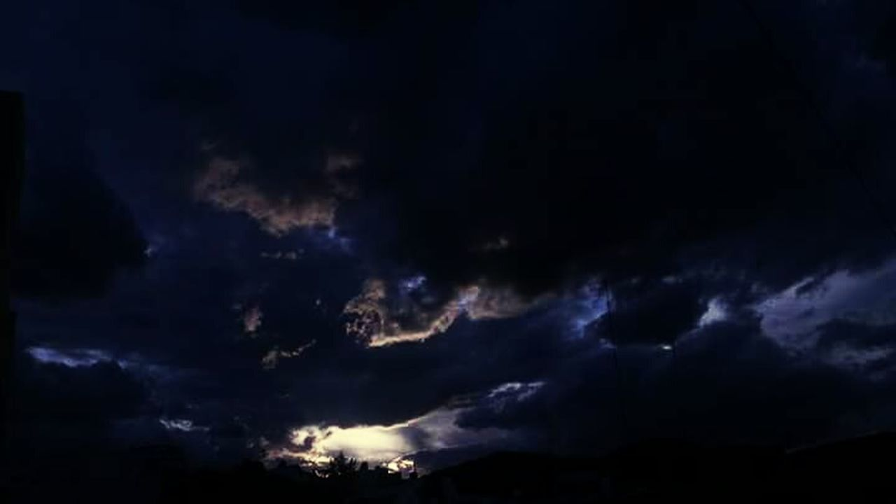 cloud - sky, night, dark, sky, nature, thunderstorm, scenics, storm cloud, no people, backgrounds, outdoors, star - space, beauty in nature, power in nature, lightning, space, astronomy