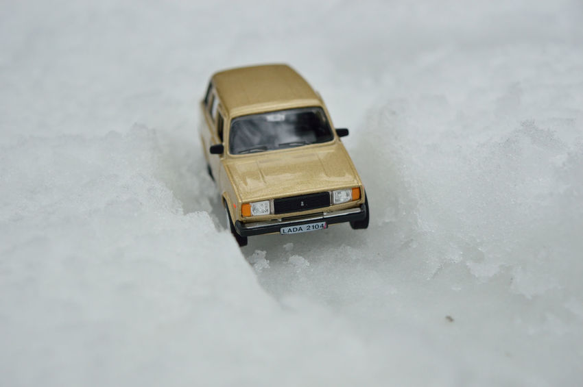 (Toy) car on the snow Car Cold Temperature Day Ice Land Vehicle Nature No People Snow Snowing Toy Car Transportation Weather Winter