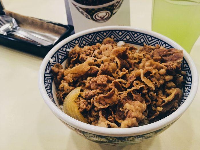 gyudon Food