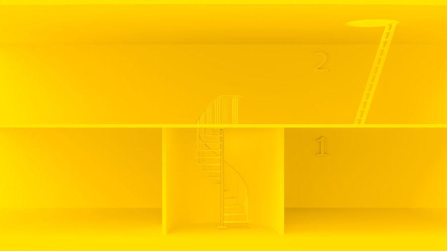 Yellow ladders