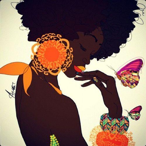 NaturalBeauty Beautiful Afro Fro TeamNatural Spring Springtime