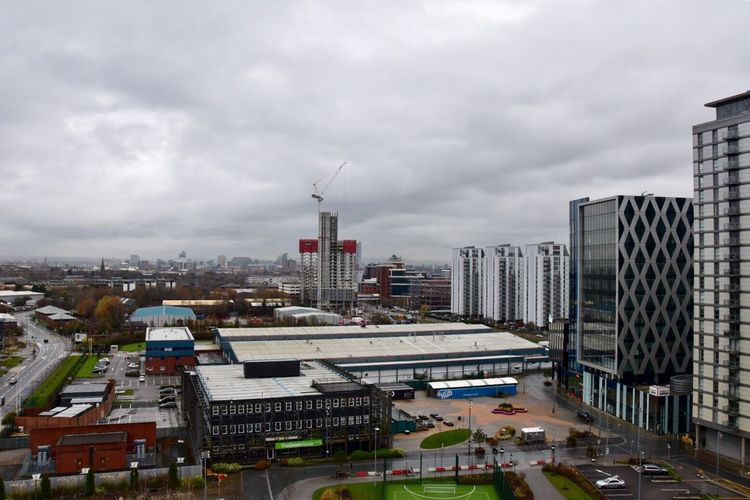 City skyline Manchester England . City Architecture Building Exterior Built Structure Sky Cityscape Cloud - Sky Outdoors Residential Building Development Modern Skyscraper No People Urban Skyline Day Manchester EyeEm Salford Quays EyeEm Gallery City View  Urban Landscape Cityscape Getty X EyeEm EyeEm Masterclass Cityscapes