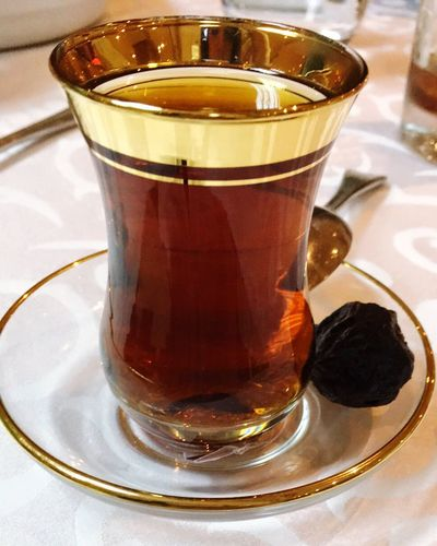 Tea Time Food And Drink Drink Drinking Glass Tea - Hot Drink Mint Tea Relaxation Brown