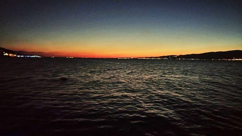 Sunset Değirmendere Sahil Perpective ✌👍🌞