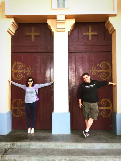 When We Were On Holiday Vietnam Dalat The Chicken Cathedral Beautiful Door