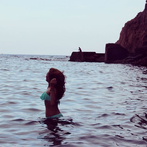 Water Sea Child Beauty Beach Full Length Women Swimming Standing Summer Camera Wave Calm Horizon Over Water Camera - Photographic Equipment Shore Seascape Water Sport This Is Strength Moments Of Happiness 2018 In One Photograph Analogue Sound Exploring Fun Springtime Decadence The Portraitist - 2019 EyeEm Awards The Traveler - 2019 EyeEm Awards