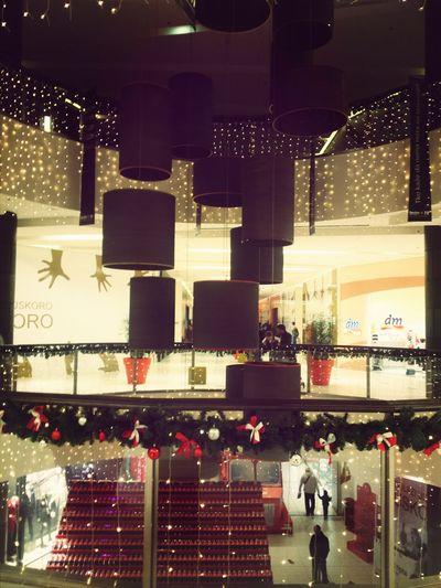 Festive Season Croatia Slavonski Brod Christmas and holiday season.