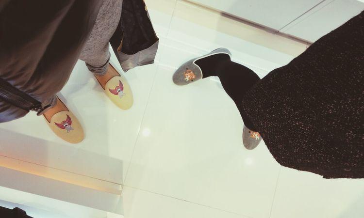 couple shoe w mommy