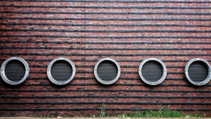 It goes round and round and round... cityscapes Streetphotography Concrete Concrete Wall Circles Berlin Photography Corrugated Iron Backgrounds Full Frame Pattern Circle Close-up Architecture