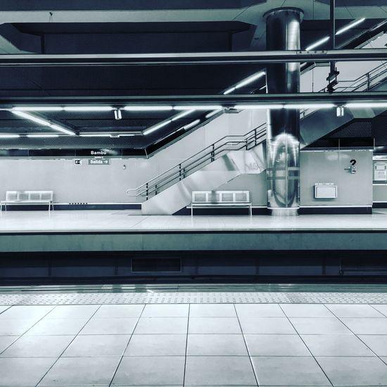 Metro Madrid. Subway Madrid Metro SPAIN