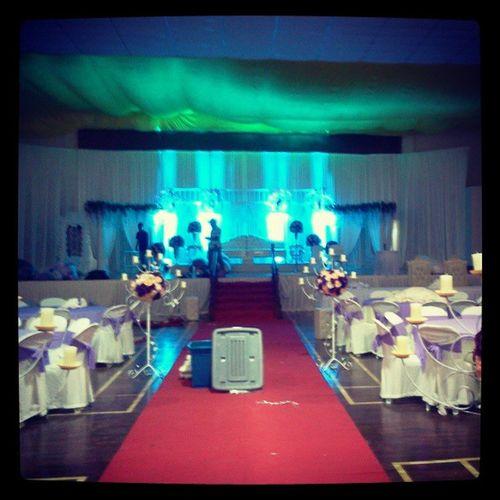 Bersiap sedia tuk wedding esok