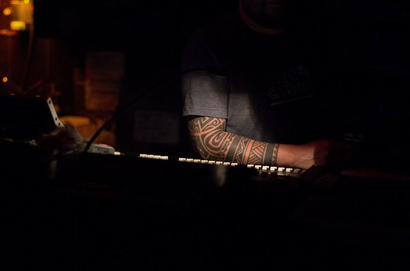Occupation Human Hand Engineer Sound Light Editorial Photography Music Show Rock Concert Tatoo Keyboard Montreal Rocks