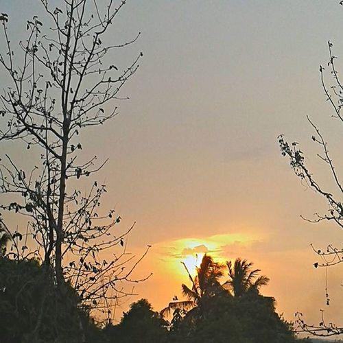 BeautifulSunset !!! Ig_gujarat IExploregujarat Nature Real Click BlueEyes Sky *colour*click*nature*hole*