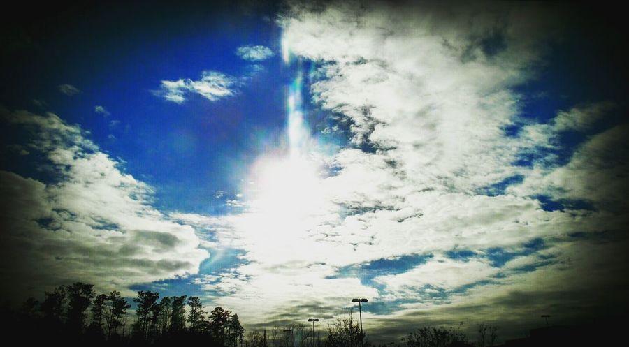 Showcase: January Sunset #sun #clouds #skylovers #sky #nature #beautifulinnature #naturalbeauty #photography #landscape Sunrise_sunsets_aroundworld Alabama Taking Photos Clouds And Sky Godscreation