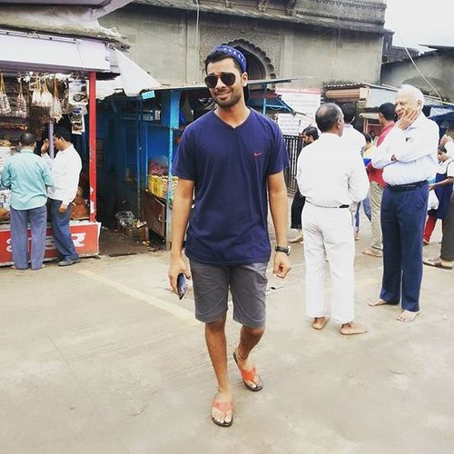 Holiday Funn Nike Adda Shorts Temple Hills Sonysmartphone Cap Instalike Instagood Instadaily Beard Maharastra