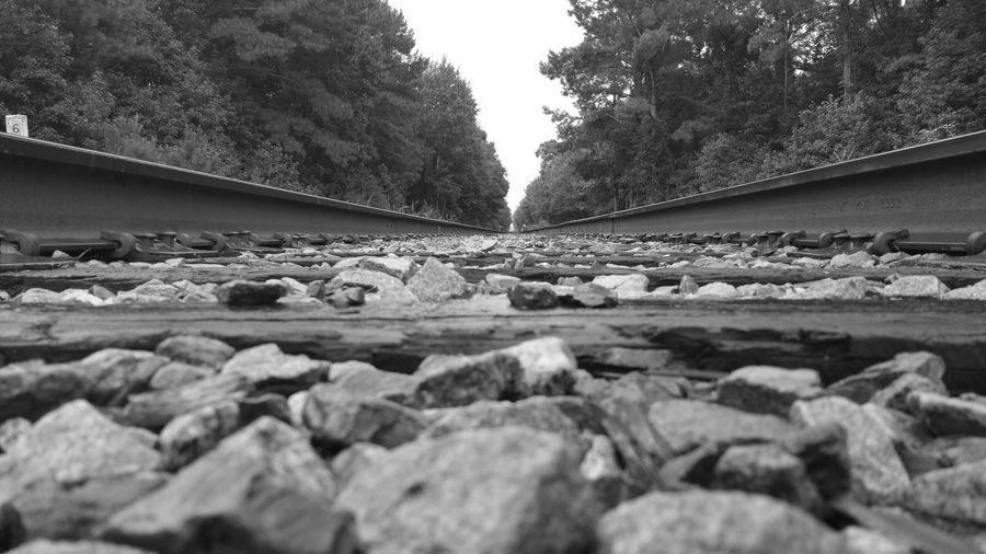 EyeEm Best Shots - Black + White Blackandwhite Black And White Collection  Blackandwhite Photography My Hobby Check This Out Railroad Railroad Tracks Railroadphotography