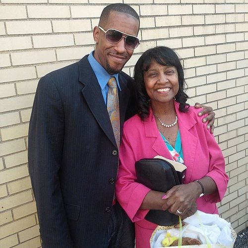 My Beautiful Mother and I... Goodafternoon Everyone!!! TheLordsDay Sunday Weareblessed