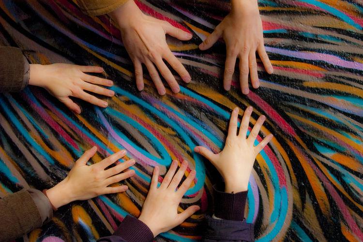 Hands Colours Colors