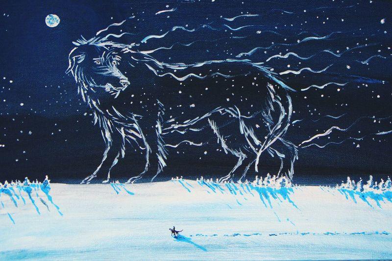 Acrylic Painting Acrylic Art, Drawing, Creativity ArtWork My Hobby :) Hearthound Asgard Artist Art Gallery Irish Wolfhound