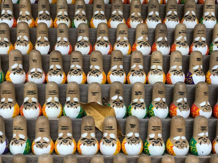 Kyoto Japan 日本 感謝 紅葉 おみくじ 赤山禅院 京都 Arrangement In A Row Large Group Of Objects Side By Side Retail  Order No People