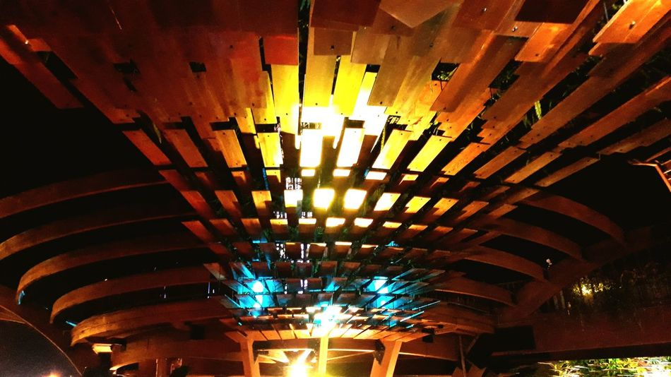 Indoors  Illuminated Ceiling No People Architecture Multi Colored Day