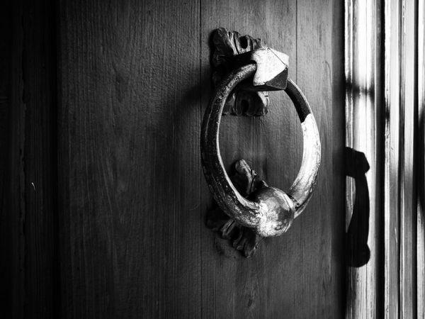 Door Close-up No People Front Door Indoors  Day Doorknob 3XSPUnity Black And White Outdoors Fine Art Antique Ancient Old