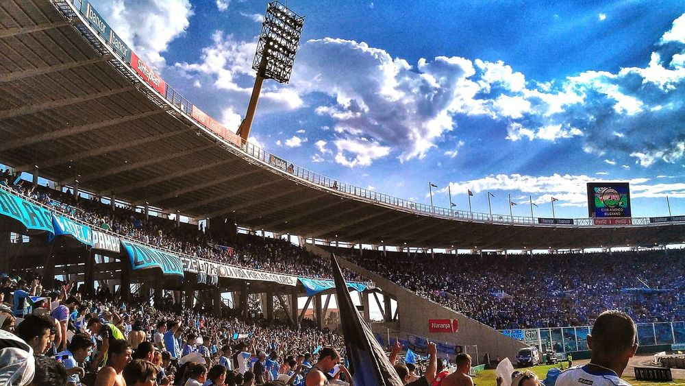 Belgrano Hinchada Pasión  Futbol Cancha
