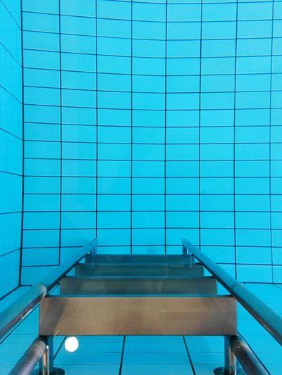 At a swimming pool