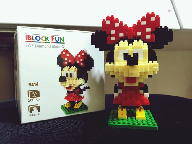 I Made This! LEGO Minimouse Mickey Mouse Disney My Hobby