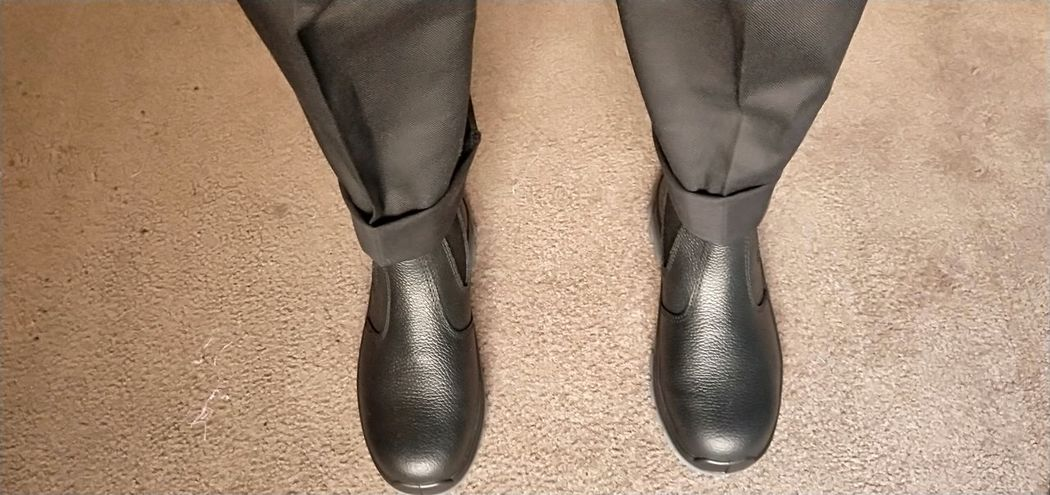 Carpet Beige Black Boot Work Boots Black Pants Protective Workwear New First Day Off To Work EyeEm Selects Low Section Close-up Footwear Shoe Pair Things That Go Together Personal Perspective Flat Shoe Foot