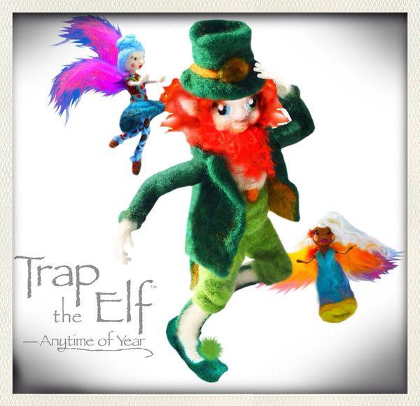 www.traptheelf.com www.traptheleprechaun.com St. Pattys Day Leprechaun St. Patrick's Day Irish