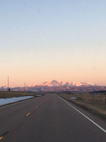Pike's Peak Colorado Photography Colorado Springs Colorado Sunrise