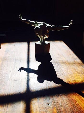 Man Sun Light And Shadow Window Statue EyeEmNewHere Art Is Everywhere