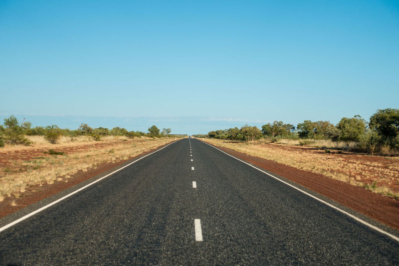 Road dissapering into distance Asphalt Country Road Day Diminishing Perspective Empty Landscape Outdoors Perspective Remote Road Road Marking The Way Forward Vanishing Point