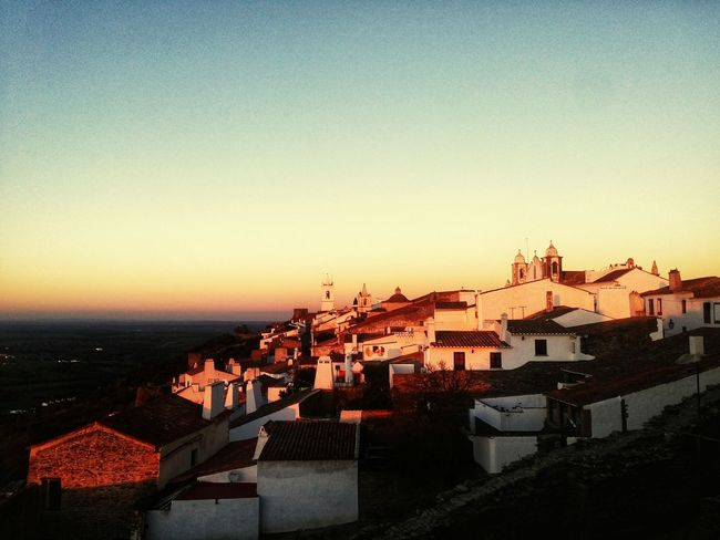 Monsaraz Monsaraz, Portugal Alentejo Alentejo,Portugal Portugal Reguengosdemonsaraz House Building Exterior Architecture Built Structure Residential Building No People Sunset Outdoors Clear Sky Sky Roof Day