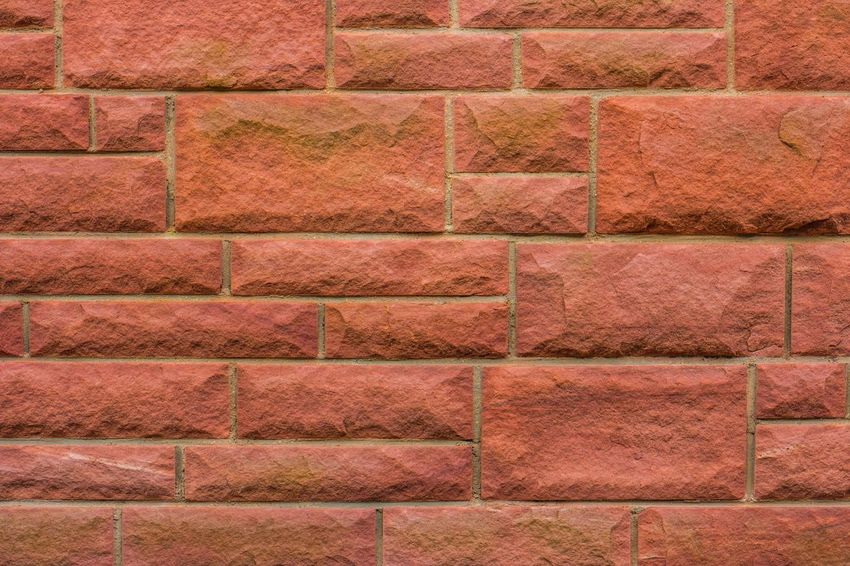 Rock Stone Wall Security Architecture Backgrounds Brick Brick Wall Brown Building Exterior Built Structure Close-up Copy Space Design Element No People Outdoors Pattern Protect Red Sandstone Stone Block Stone Material Stonewall Textured  Textured Effect Wall Wall - Building Feature EyeEmNewHere