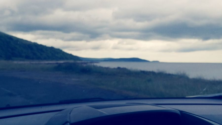 On The Way Arran  Scotland Clouds And Sky