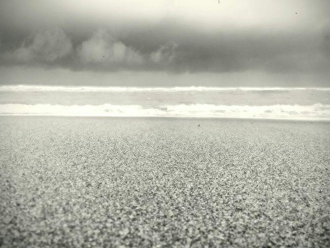Zambales surfing beach. Taken at early morning. Blackandwhite Photography
