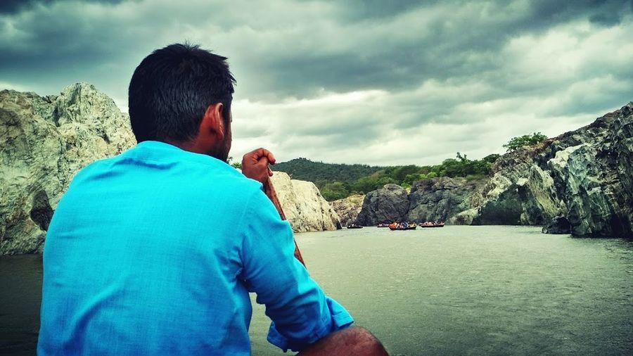 Hogenakkal Waterfalls Landscape Leisure Activity Nature Rock - Object Scenics Vacations Water First Eyeem Photo