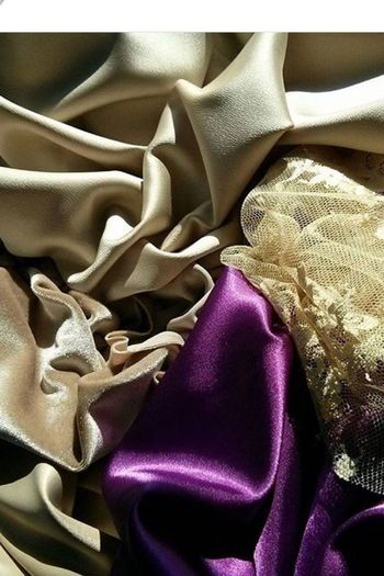 Textile Material Beauty Satin Fabric Fashion Fashion&love&beauty Effect No People Close-up Indoors  Crumpled Day